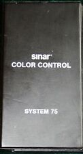 SINAR COLOR CONTROL SYSTEM 75 Color Filters