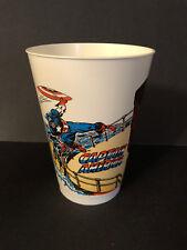 "1977 7-Eleven Marvel Capatin America Red Skull 4 7/8"" tall Slurpee Cup vintage"