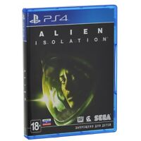 Alien: Isolation (PS4, 2014) Russian,English,Spanish,French,Italian,German