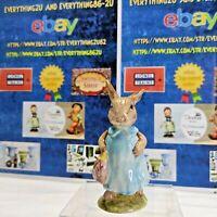 Beatrix Potter Beswick Mrs Flopsy Bunny Figurine Vintage England #3