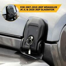 Locking Hood Latch Hood Catch with Lock for 2018-2019 2020 Jeep Wrangler Jl Jt