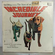 Walt Disney's Story Of An Incredible Journey - A Disneyland Record - Vintage