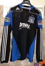 Chris Wondolowski MLS San Jose Earthquakes Large Long Sleeve adidas Jersey Nice!
