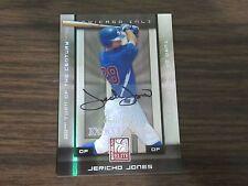2008 Donruss Elite #48 Jericho Jones Autographed / Signed Card (B101) Cubs