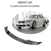 für BMW F10 F11 F18 M-Paket Frontspoiler Carbon Frontlippe Splitter Frontansatz