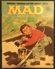 Mad Magazine #96  July 1965  The Road Paver