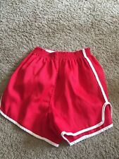 Vintage Harvard Athletic Apparel Red Shorts Running Track College Outerwear Prop