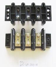 1x Kulka Marathon 605 GP 2502 03, 3 Position, Double Row 600V 90A Terminal Block
