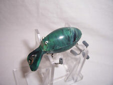 VINTAGE HAWK LUCKY BUG FISHING LURE grnmarble