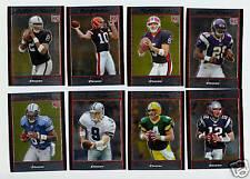 2007 Bowman Chrome Football Set - W/Rookies - 220 Cards