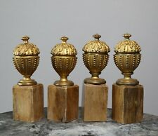 Architectural Salvage French Antique Gilt Bronze Neoclassical Urn Finials