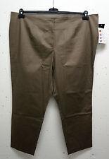 Sara Cotton Blend Plus Size Pants for Women