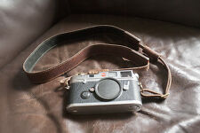 Handmade Genuine Real Leather Camera Shoulder Neck Strap for EVIL Film Camera 57
