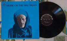 Music Of The Nile Valley LP Bedouin Arabic Lyrichord VG++/M-