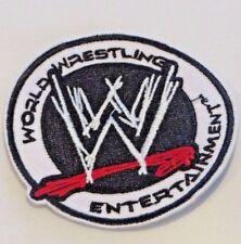 Wwe Wrestling Entertainment Logo Embroidered Sewn/Iron On Premium Patch