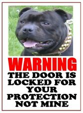 Warning Aluminium Dog Signs - 5 different designs 9 different Dog breeds.