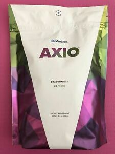 LifeVantage AXIO Dragon Fruit Dietary Supplement 30 PACKS ~ Exp 08/2022