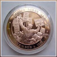 1952 President Dwight D Eisenhower - Solid Bronze Medal