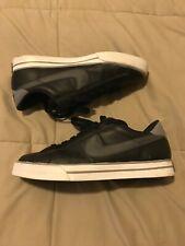 RARE 2011 MEN'S NIKE SWEET CLASSIC black white leather Sz us 10