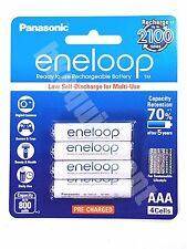 Panasonic eneloop HR-4UTGB Rechargeable AAA Pre-Charged 1.2v NiMH Battery x8