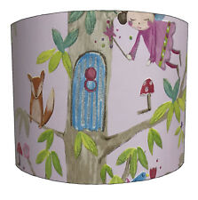 Lampshades Ideal To Match Arthouse Woodland Fairies Wallpaper & Fairies Duvets.