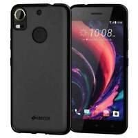 AMZER Protective Pudding TPU Case Slim Back Cover for HTC Desire 10 Pro - Black