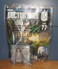 BBC Eaglemoss Doctor Who Figurine Collection Part 77 Flamethrower Dalek Sealed