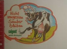 Aufkleber/Sticker: Calgonit perfekte Milchhygiene (291216162)