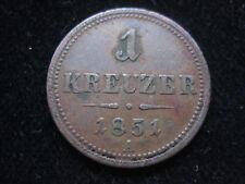 MDS ÖSTERREICH 1 KREUZER 1851 A