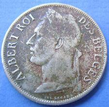1925 Belgium - Belgium Congo - Congo Freestate, 1 Franc 1925  KM# 20