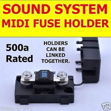 MIDI FUSE HOLDER with 100A FUSE for Mega Sound System / Dual Battery / BRISBANE