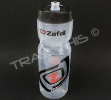 Zefal Sense M80 Clear 800ml 27oz Bicycle Water Bottle BPA Free / Dishwasher Safe