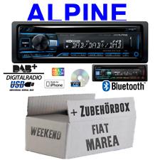 Alpine Autoradio für Fiat Marea &Weekend 185 Bluetooth DAB+ CD/USB Apple Android