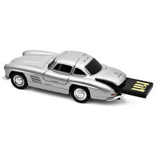 Mercedes Benz 300SL Gullwing Car USB Memory Stick 16Gb - Silver