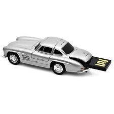 Mercedes Benz 300SL Gullwing Car USB Memory Stick 16Gb - Silver
