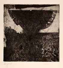 """Giuseppe ZIGAINA """"La farfalla del sogno"""", 1978 acquaforte su zinco originale"""