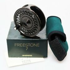 SHIMANO FREESTONE 7 Right Fly Fishing Reel Japan Fedex Priority 2day to Usa