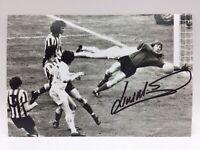 Rare Jim Montgomery Sunderland 1973 Signé Photo + COA Autographe