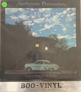 "JACKSON BROWNE - LATE FOR THE SKY - 12"" VINYL LP SYL 9018 VG+ / VG+ CON"