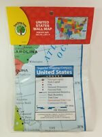 Teaching Tree United States Wall Maps 40x28 NEW/SEALED ***FREE SHIPPING***