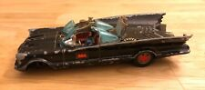 Vintage Corgi Toys Batmobile Diecast Model Car with Batman Figure- Great Britain
