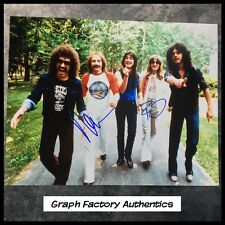 GFA x3 Neal Schon Rock Band * JOURNEY * Signed 11x14 Photo PROOF AD4 COA