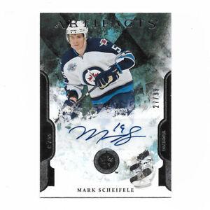 Mark Scheifele 2011-12 Upper Deck Artifacts Signed Rookie Card 27/99