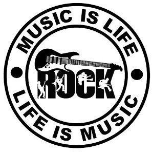 Musique If Life (Rock Musique) - Fun Voiture / Autocollants pour