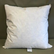 """Down Feather Pillow Form 30"""" x 30"""" (1)  Made in The USA 90/10% Down"""