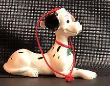 RARE Disney Dalmatian Christmas tree Ornament santa hat