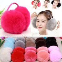 Fashion Ear Warmers For Girls Plush Women Muffs Design Thick Fluffy Behind Head