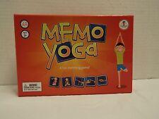 Memo Yoga Matching card Game