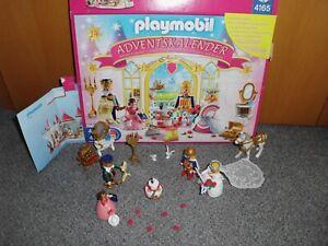 Playmobil Adventskalender4165Prinzessinnen-Hochzeit ( 3 Teile fehlen)