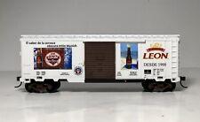 "Ho Scale 40' Boxcar ""Leon Beer"" Advertising Custom"